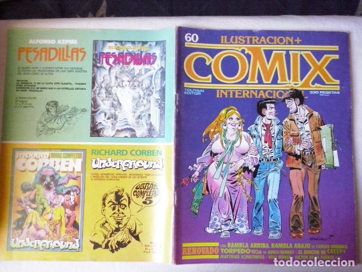 COMICS: COMIX INTERNACIONAL Nº 60 (ABLN) (Tebeos y Comics - Toutain - Comix Internacional)