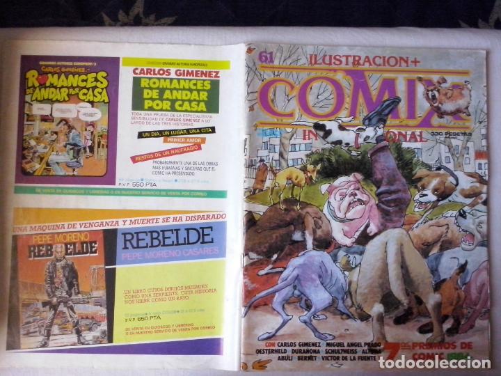 COMICS: COMIX INTERNACIONAL Nº 61 (ABLN) (Tebeos y Comics - Toutain - Comix Internacional)