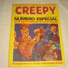 Cómics: CREEPY , NUMERO ESPECIAL . LAS 19 MEJORES HISTORIETAS.. Lote 146107846