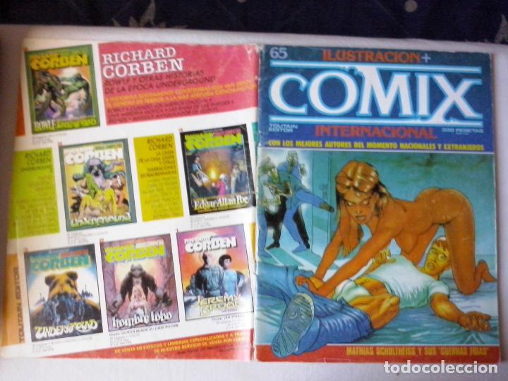 COMICS: COMIX INTERNACIONAL Nº 65 (ABLN) (Comics und Tebeos - Toutain - Comix Internacional)