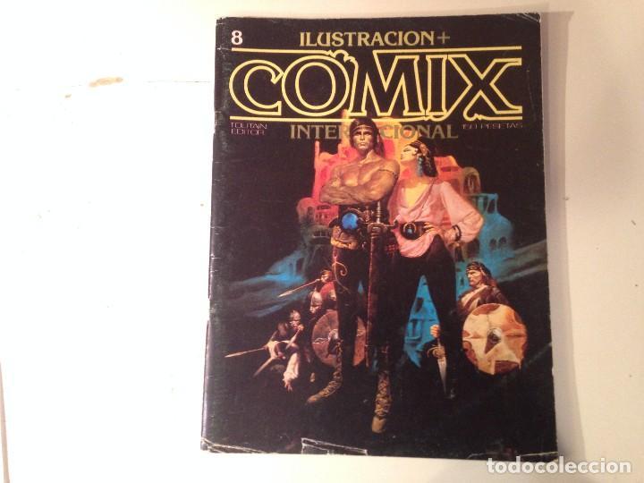 Cómics: Comix internacional Lote 57 ejemplares - Foto 5 - 146283014