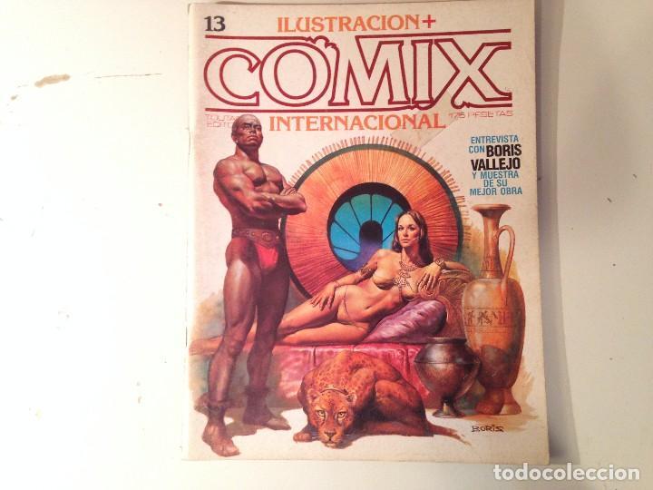 Cómics: Comix internacional Lote 57 ejemplares - Foto 7 - 146283014