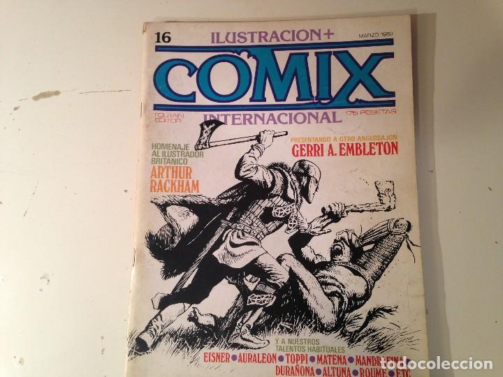 Cómics: Comix internacional Lote 57 ejemplares - Foto 8 - 146283014
