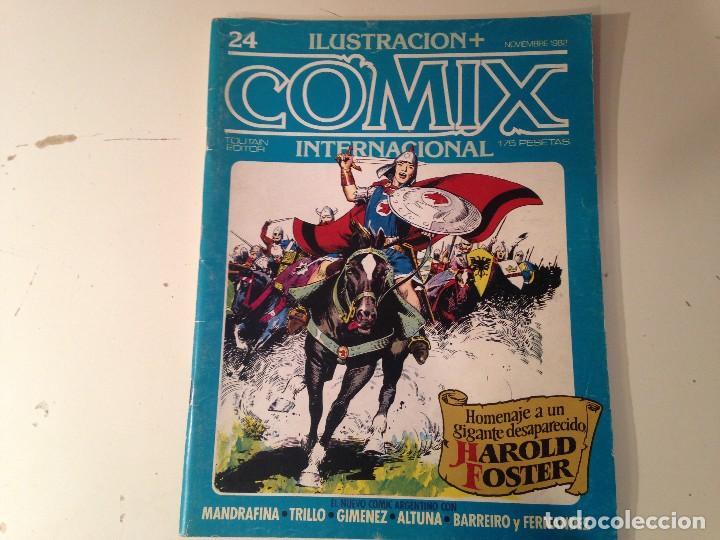 Cómics: Comix internacional Lote 57 ejemplares - Foto 10 - 146283014