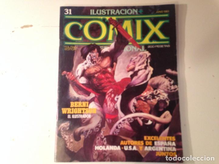 Cómics: Comix internacional Lote 57 ejemplares - Foto 11 - 146283014