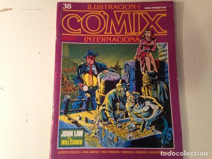 Cómics: Comix internacional Lote 57 ejemplares - Foto 13 - 146283014