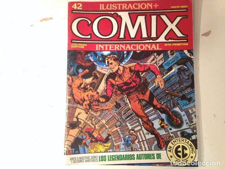 Cómics: Comix internacional Lote 57 ejemplares - Foto 14 - 146283014