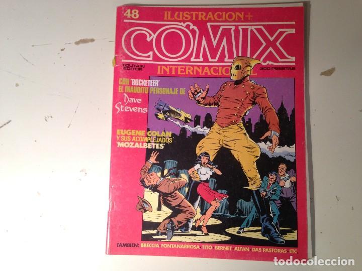 Cómics: Comix internacional Lote 57 ejemplares - Foto 17 - 146283014
