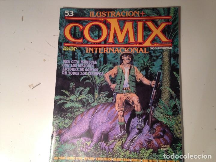 Cómics: Comix internacional Lote 57 ejemplares - Foto 20 - 146283014