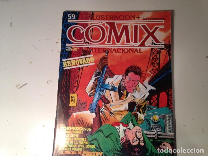 Cómics: Comix internacional Lote 57 ejemplares - Foto 21 - 146283014
