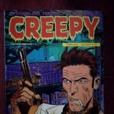 Cómics: CREEPY EXTRA Nº 11 CONTIENE 4 COMICS Nº 49-50-51-52 POSTER TORPEDO 1936 TOUTAIN 1979 NUEVO . Lote 146286890