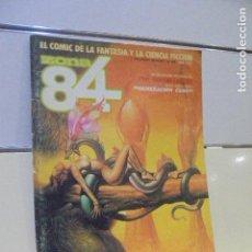 Cómics: REVISTA DE FANTASIA Y CIENCIA FICCION ZONA 84 Nº 34 - TOUTAIN -. Lote 146557406
