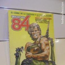 Cómics: RETAPADO REVISTA DE FANTASIA Y CIENCIA FICCION ZONA 84 Nº 35-36 Y 37 - TOUTAIN -. Lote 146560062