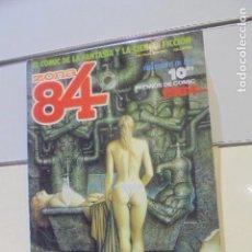 Cómics: RETAPADO REVISTA DE FANTASIA Y CIENCIA FICCION ZONA 84 Nº 56-57 Y 58 - TOUTAIN -. Lote 146560662
