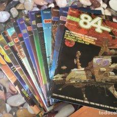 Cómics: ZONA 84 Nº 1 A 22, 24, 25, 27, 36, 68, 81. Lote 146753101