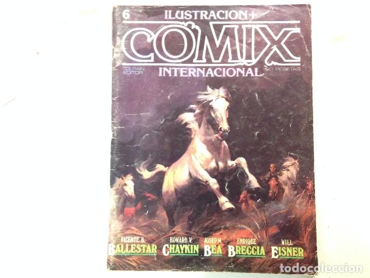Cómics: Comix internacional Lote 57 ejemplares - Foto 24 - 146283014