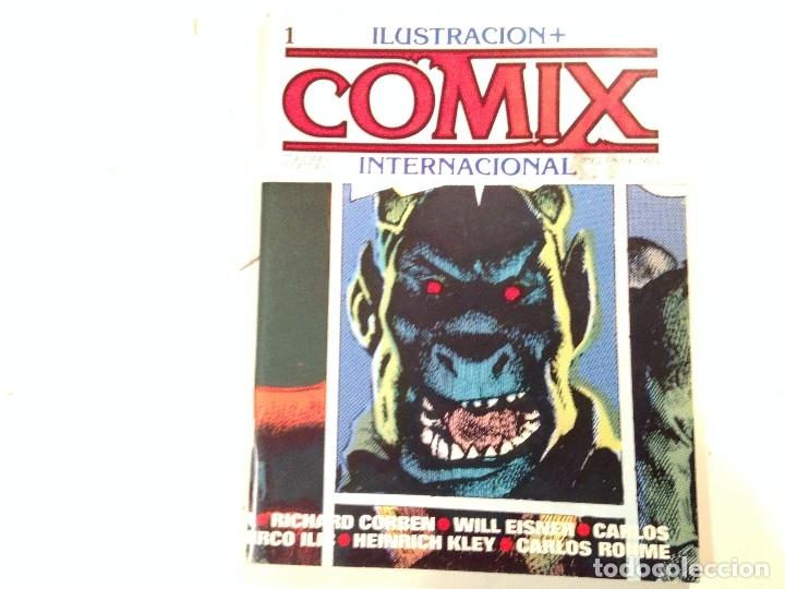 COMIX INTERNACIONAL LOTE 57 EJEMPLARES (Tebeos y Comics - Toutain - Comix Internacional)