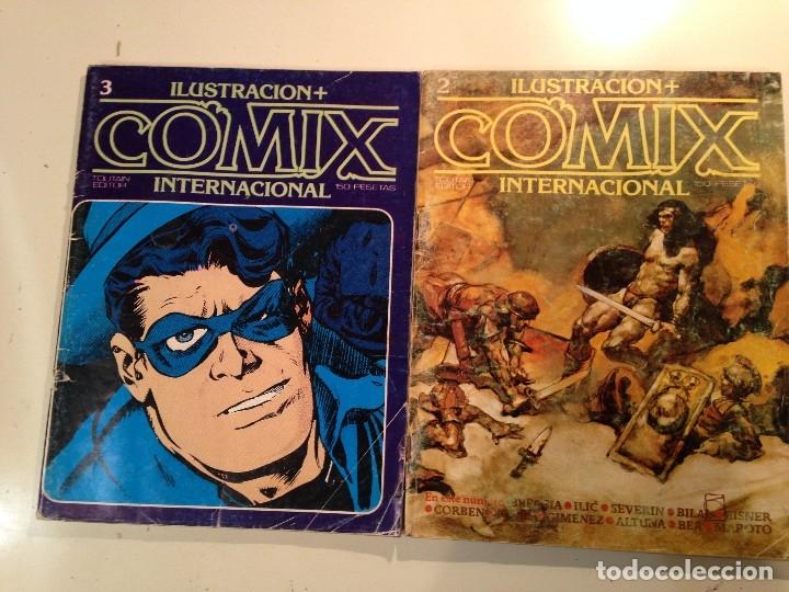 Cómics: Comix internacional Lote 57 ejemplares - Foto 2 - 146283014