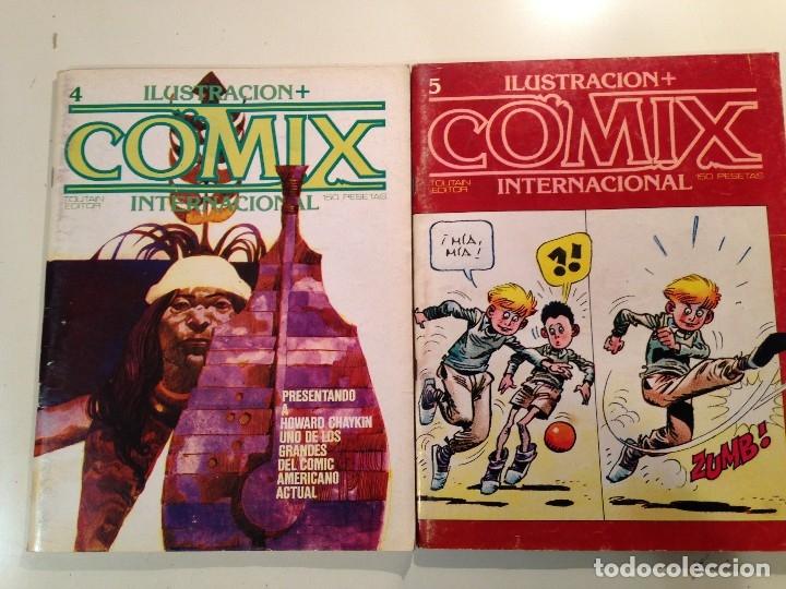 Cómics: Comix internacional Lote 57 ejemplares - Foto 3 - 146283014