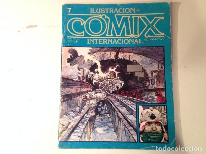 Cómics: Comix internacional Lote 57 ejemplares - Foto 4 - 146283014