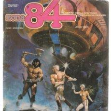Cómics: ZONA 84. Nº 2. TOUTAIN, EDITOR. (ST/C86). Lote 146872798