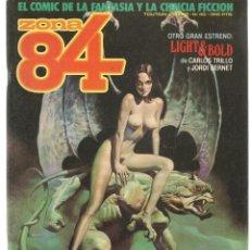 Cómics: ZONA 84. Nº 40. TOUTAIN, EDITOR. (ST/C86). Lote 146875946