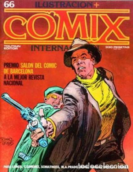 ILUSTRACIÓN+COMIX INTERNACIONAL-Nº 66 -SEPT.-1986 -EISNER-ANTONIO PARRAS-BRECCIA-BUENO-9980 (Tebeos y Comics - Toutain - Comix Internacional)
