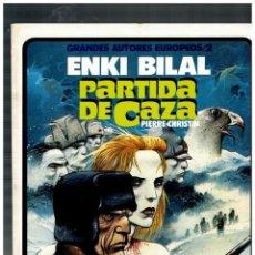 Cómics: PARTIDA DE CAZA -ENKI BILAL- GRANDES AUTORES EUROPEOS / 2. TOUTAIN,1985. EXCELENTE.. Lote 146949514
