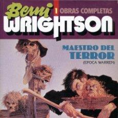 Cómics: BERNI WRIGHTSON. OBRAS COMPLETAS - TOUTAIN Nº 1. Lote 146980390