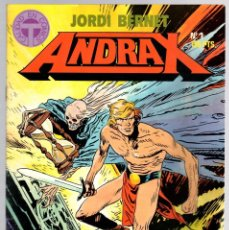 Cómics: ANDRAX. JORDI BERNET. NUM. 1 AL 9. TOUTAIN, 1988. Lote 147011398