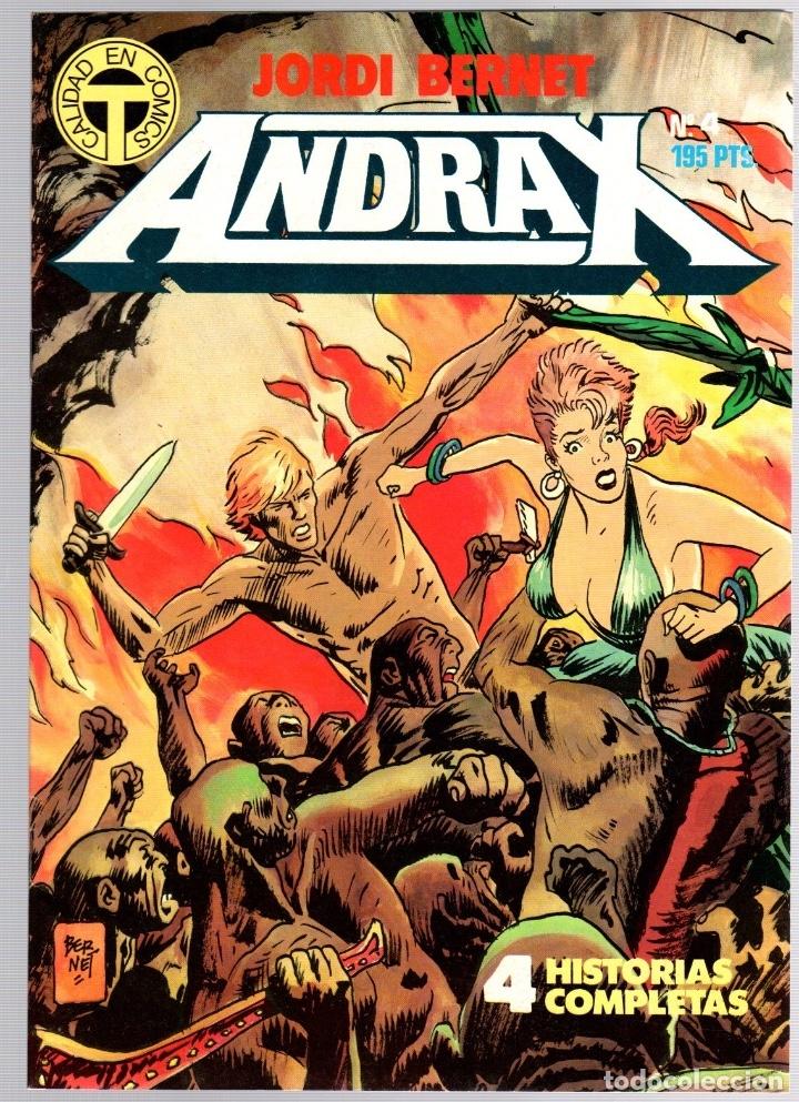 Comics: ANDRAX. JORDI BERNET. NUM. 1 AL 9. TOUTAIN, 1988 - Foto 4 - 147011398