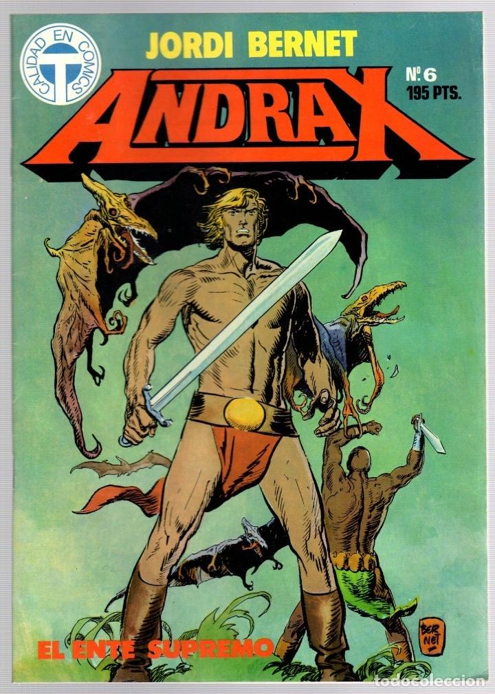 Comics: ANDRAX. JORDI BERNET. NUM. 1 AL 9. TOUTAIN, 1988 - Foto 6 - 147011398
