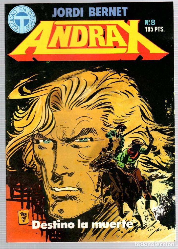 Comics: ANDRAX. JORDI BERNET. NUM. 1 AL 9. TOUTAIN, 1988 - Foto 8 - 147011398