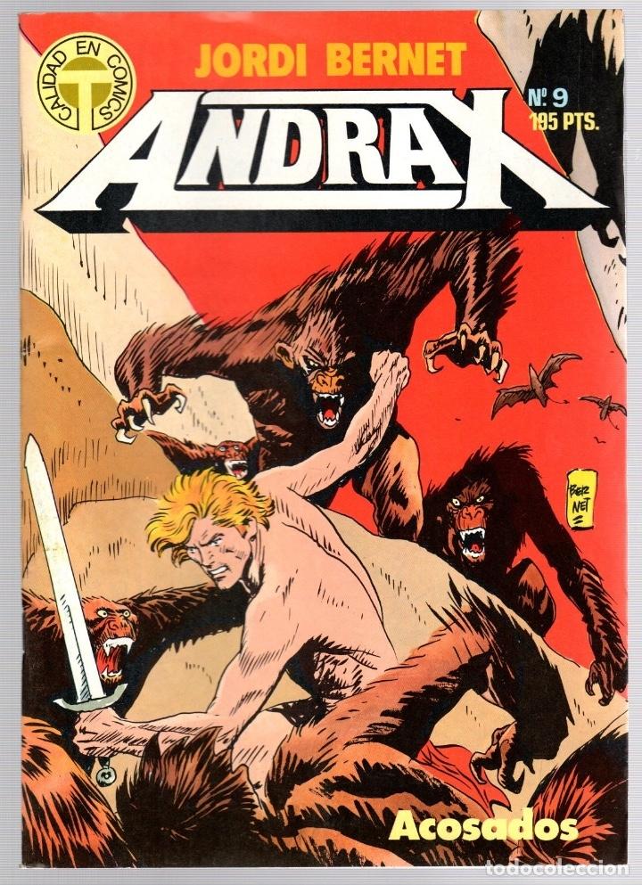 Comics: ANDRAX. JORDI BERNET. NUM. 1 AL 9. TOUTAIN, 1988 - Foto 9 - 147011398
