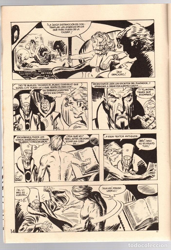 Comics: ANDRAX. JORDI BERNET. NUM. 1 AL 9. TOUTAIN, 1988 - Foto 10 - 147011398