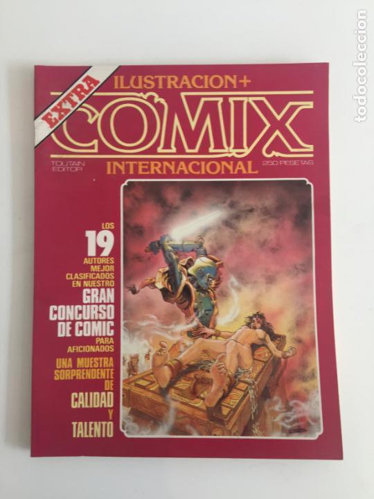 COMIX INTERNACIONAL, EXTRA - BUEN ESTADO (Tebeos y Comics - Toutain - Comix Internacional)
