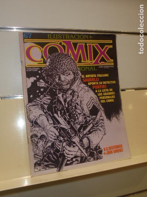 ILUSTRACION MAS COMIX INTERNACIONAL Nº 67 - TOUTAIN - OCASION - (Comics und Tebeos - Toutain - Comix Internacional)