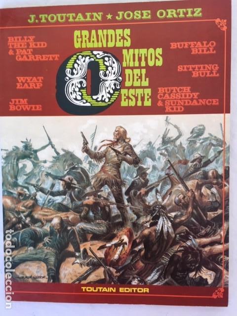 Cómics: GRANDES MITOS DEL OESTE - Completa dos tomos - Foto 2 - 147532142