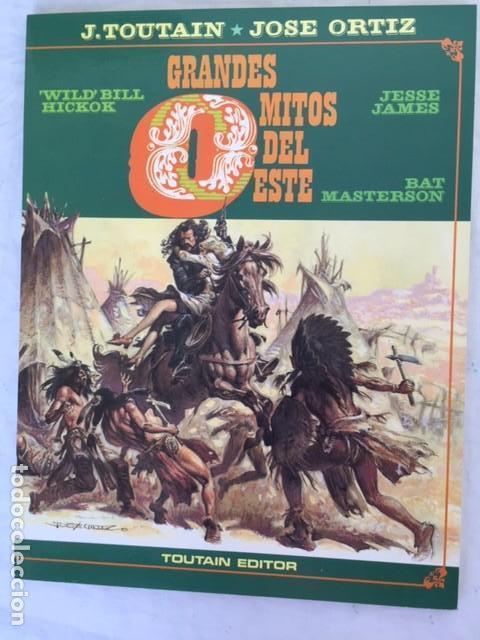 GRANDES MITOS DEL OESTE - COMPLETA DOS TOMOS (Tebeos y Comics - Toutain - Otros)