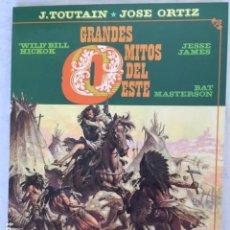 Cómics: GRANDES MITOS DEL OESTE - COMPLETA DOS TOMOS. Lote 147532142