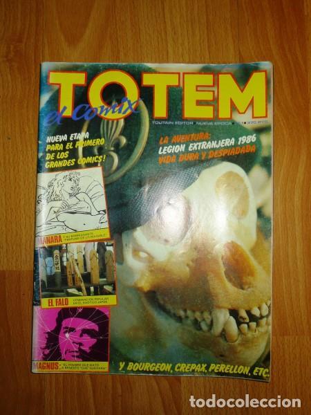 TOTEM : EL COMIX. NUEVA ÉPOCA ; Nº 1 (Tebeos y Comics - Toutain - Otros)