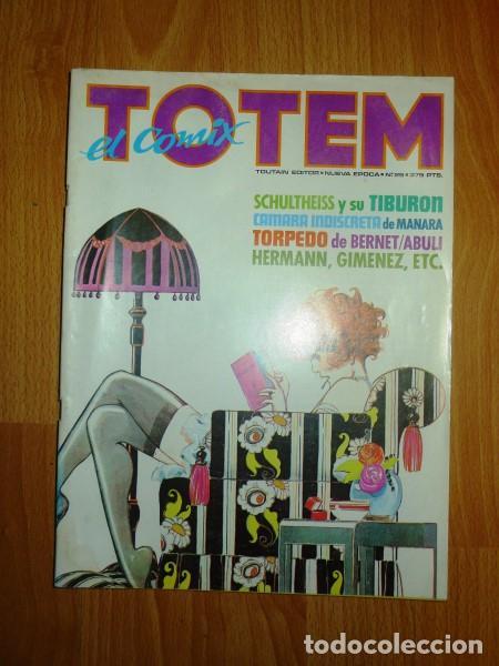 TOTEM : EL COMIX. NUEVA ÉPOCA ; Nº 25 (Tebeos y Comics - Toutain - Otros)