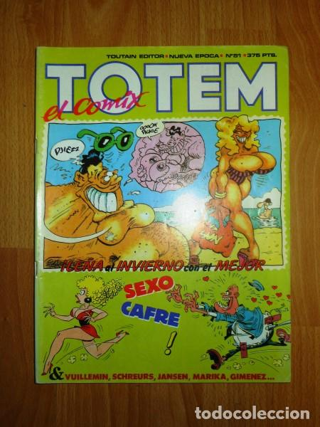 TOTEM : EL COMIX. NUEVA ÉPOCA ; Nº 51 (Tebeos y Comics - Toutain - Otros)