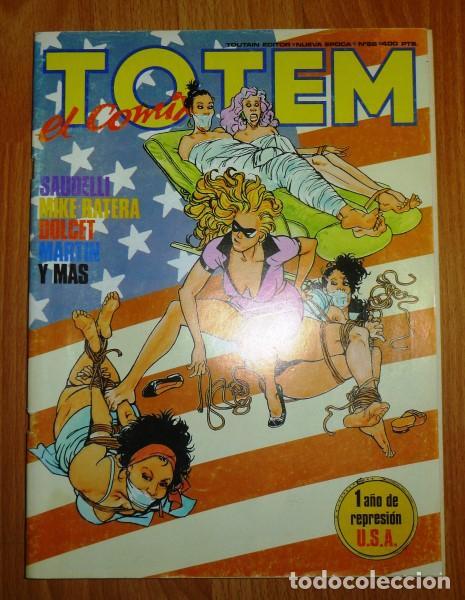 TOTEM : EL COMIX. NUEVA ÉPOCA ; Nº 66 (Tebeos y Comics - Toutain - Otros)