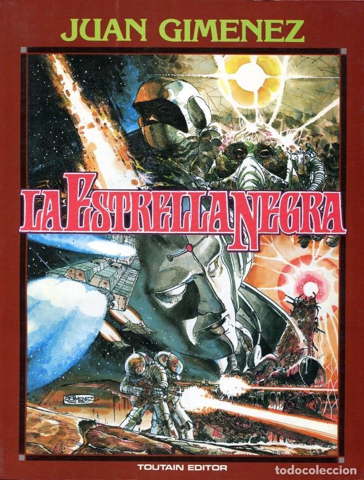 LA ESTRELLA NEGRA - TOUTAIN / NÚMERO ÚNICO (Comics und Tebeos - Toutain - Alben)