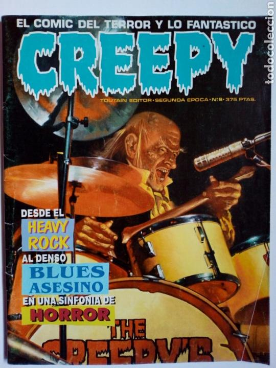 Cómics: LOTE 3 números CREEPY: 54, 55 (1ª época) + 9 (2ª época) - Foto 4 - 147685186