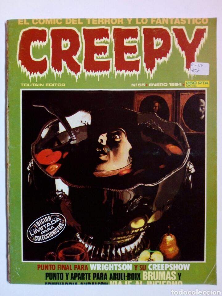 Cómics: LOTE 3 números CREEPY: 54, 55 (1ª época) + 9 (2ª época) - Foto 3 - 147685186