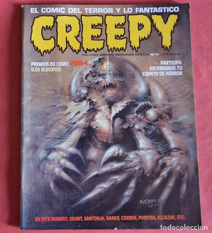 CREEPY - SEGUNDA EPOCA - Nº 17 - PREMIOS DEL COMIC 1984 (Comics und Tebeos - Toutain - Creepy)