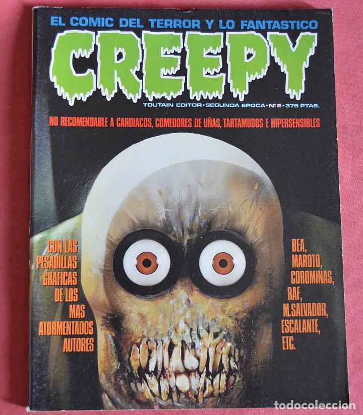 CREEPY - SEGUNDA EPOCA - Nº 2 (Tebeos y Comics - Toutain - Creepy)