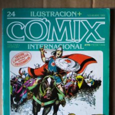 Cómics: REVISTA ILUSTRACIÓN + COMIX INTERNACIONAL N°24 (TOUTAIN EDITOR, 1982). ESPECIAL HAROLD FOSTER. Lote 148447234